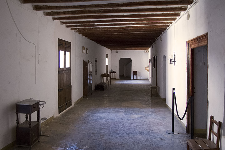 Hallway in the Monastery of C&#225sbas