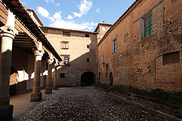 Courtyard in the Monastery of C&#225sbas